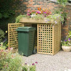 Rowlinson Kanny Bin Store - Heritage Gardens UK Online Garden Centre Garbage trash