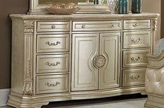 Marble Furniture, Dresser Furniture, Bedroom Dressers, Fine Furniture, Hello Furniture, Double Dresser, Dresser With Mirror, Best Dresser, Gold Wood