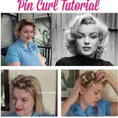 Tutorial: Basic Victory Rolls - Va-Voom Vintage | Vintage Fashion, Hair Tutorials and DIY Style