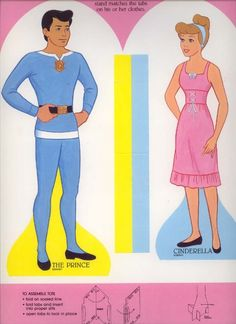 Cinderella and The Prince paper dolls.  I'm pretty sure @Sarah Chintomby Chintomby Chintomby Turner McGowen had these