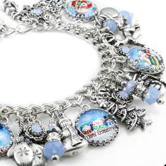 Winter Snowman Christmas Bracelet