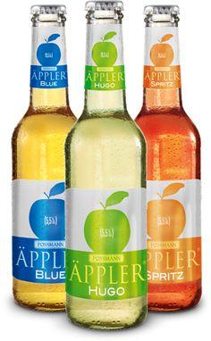 Innovative Äppler-Kreationen Blue, Hugo & Spritz | Äppler & Apfelwein-Mixgetränke von Possmann