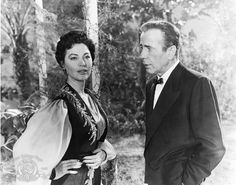 """Maria Vargas (Ava Gardner): """"In Hollywood, it is not easy to become a star."""" // Harry Dawes (Humphrey Bogart): """"Ah, where is it easy?"""" -- from The Barefoot Contessa (1954) directed by Joseph L. Mankiewicz"""