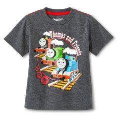 Thomas & Friends Toddler Boys' Short Sleeve T-Shirt - Charcoal Heather