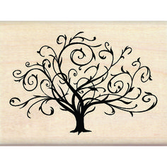 Inkadinkado® | Flourished Fall Tree