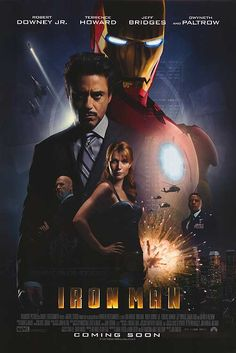 Iron Man movie posters at movie poster warehouse movieposter.com