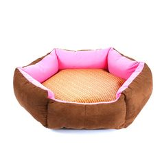 WuKong Hexagonal Pet Bed Cat Nest for Small Dog Pet Nest Cushions Removable Washable Dog House with Summer Mat *** For more information, visit image link. (This is an affiliate link and I receive a commission for the sales)