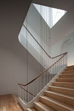 View the full picture gallery of Hotel In Coimbra Palace, Portugal, Stairs And Staircase, Wood Stairs, Contemporary Building, Architectural Photographers, Hotel Interiors, Architecture, Stairways