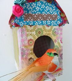 With our wee ones obsession with all things birds - this is a great activity to do with her!