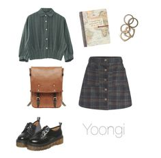 """""""Old School Outfit / BTS"""" by youaremorethanbeautiful ❤ liked on Polyvore featuring Rachel Leigh and Ally Capellino"""