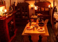 The Hobbit's dining room