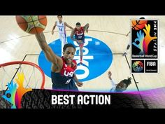 Check out DeMar DeRozan's amazing dunk versus the Dominican Republic. The 2014 FIBA Basketball World Cup will take place in Spain from 30 August – 14 … Fiba Basketball, Make Money Online, How To Make Money, Places In Spain, 30 August, Dominican Republic, World Cup, Action, Baseball Cards