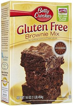 Betty Crocker Brownie Mix, Gluten Free-16 oz