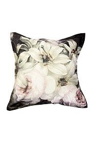 PRINTED PRETTY ROSE 55X55CM SCATTER CUSHION