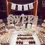 Ideas de mesas de dulces para bodas y postres de-li-cio-sos!!