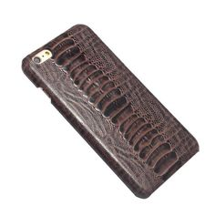 Real Genuine Leather Fashion Luxury Phone Case For Apple iPhone 6 For 6 plus plus SE Ostrich Foot Pattern Case Leather Phone Case, Iphone Models, Apple Iphone 6, Iphone Se, Leather Fashion, 6s Plus, Real Leather, Phone Cases