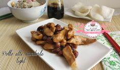 Pollo alle mandorle light – ricetta orientale (222 calorie) | Le Ricette Super Light Di Giovi