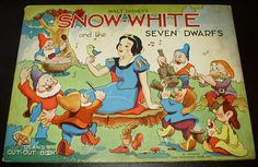 Filmic Light - Snow White Archive: Dean's Cut-Out 'Snow White' Book