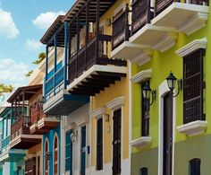 The Colors of Old San Juan
