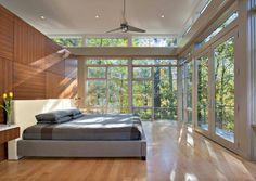 Дом на берегу частного озера от Moore Architects