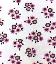 "Swiggles Lux 100/% Polyester Fleece Pastel Flower Power Baby Blanket 30/""x36/"""