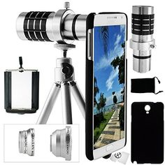 Samsung galaxy note 3 camera lens kit - 12x telephoto lens, fisheye lens, wide angle & macro lens, and accessories(silver) CamKix® http://www.amazon.com/gp/product/B00GRMXV1A/ref=as_li_tl?ie=UTF8&camp=1789&creative=9325&creativeASIN=B00GRMXV1A&linkCode=as2&tag=limitlessphones-20&linkId=2XP243JEXD5EDOTN