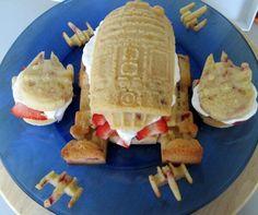 Star Wars strawberry shortcakes