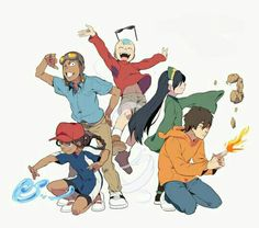 ATLA as Codename: Kids Next Door