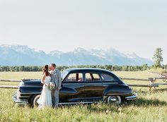 Getaway car in #jacksonhole.  Photo: Carrie Patterson