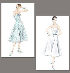 Retro Dress Pattern
