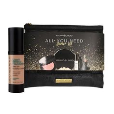 Youngblood All you need liquid mineral foundation - Sun Kissed Kit