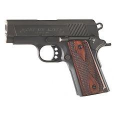 """Colt O7810D New Agent 45 ACP 3"""" 7+1 Double Diamond Wood Grip Matte Blk"""