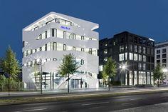 Modern Architecture In Germany – 26 Interesting Buildings, Otto Bock Architecture Design, Modern Japanese Architecture, Office Building Architecture, German Architecture, Facade Design, Building Design, Futuristic Architecture, Villa, Interesting Buildings