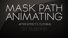 Hey guys! In this tutorial I show you a really good tip when animating your masks that will make your life periods spent masking a lot more bearable. Rotobru...