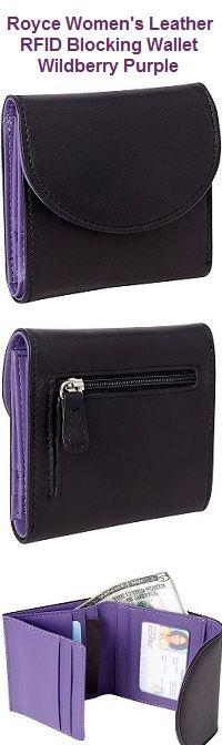 Theft Proof Leather Wallet for Men /& Women Forest Bear RFID Blocking Passport Holder 5 Slots