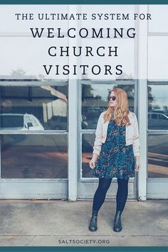 The ultimate system for welcoming and integrating church visitors In my mind, the number 1 mistake s Church Lobby, Church Foyer, Church Interior Design, Church Stage Design, Church Welcome Center, Kids Church, Church Ideas, Church Fellowship, Church Outreach