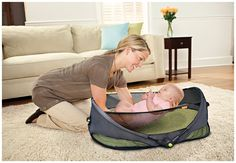 Brica Fold N Go Portable Bassinet - Black