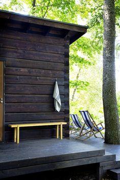 Portable Steam Sauna - We Answer All Your Questions! Outdoor Retreat, Outdoor Spaces, Outdoor Decor, Back Patio, Backyard Patio, Winter Garden Restaurant, Fresco, Sauna Design, Spa Rooms