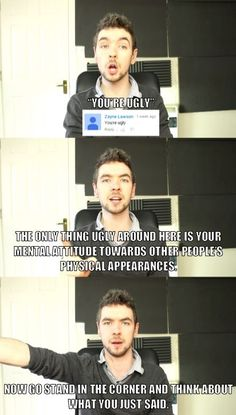 Jacksepticeye gives no mercy to dem haters!