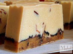 """Orange Vanilla Choco Terrine"" Soap by meiteoh, via Flickr"