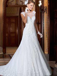 Gardênia 25 - frente #coleçãogardenia #vestidosdenoiva #noiva #weddingdress #bride #bridal #casamento #modanoiva
