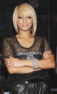 love the asymmetrical bob! and kerri hilson!