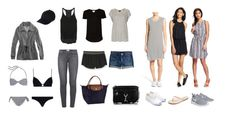 """""""San Diego Minimal Pack List"""" by adventureofletters on Polyvore featuring MANGO, Old Navy, Amuse Society, American Eagle Outfitters, rag & bone, Mossimo Supply Co., Rebecca Minkoff, Jack Purcell, NIKE and Tkees"""