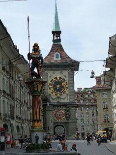Torre de Reloj de Berna, Suiza