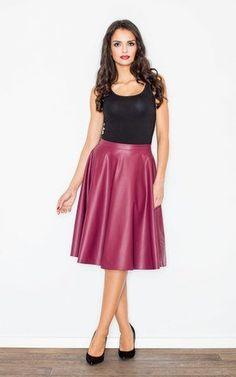 Great feminine midi skirt, a classic!