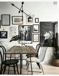 29 Creative Industrial Style Decor Ideas That You Can Create For Your Urban Geta. 29 Creative Industrial Style Decor Ideas That You Can Create For Your Urban Getaway fascinating industrial wall art Wall Decoration Ideas Dining Room Wall Decor, Dining Room Lighting, Dining Room Design, Kitchen Decor, Wooden Kitchen, Vintage Kitchen, Kitchen Ideas, Industrial Wall Art, Vintage Industrial Decor
