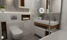 apartament mokotów - Łazienka, styl skandynawski - zdjęcie od Grafika i Projekt architektura wnętrz