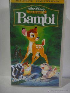 BAMBI REMASTERIZADA PELICULA VHS WALT DISNEY - Foto 1