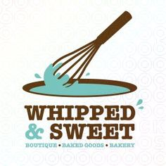 whipped and sweet logo - SOLD