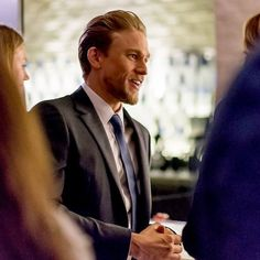 "1,098 Likes, 14 Comments - Charlie Hunnams Hair®™ (@hunnamshair) on Instagram: ""This man oozes grace, charm, and pure sex. This is one of my favorite shots from last night! .…"""